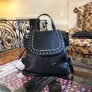Authentic Michael Kors large Riley backpack